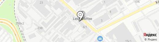 Автомодерн на карте Люберец