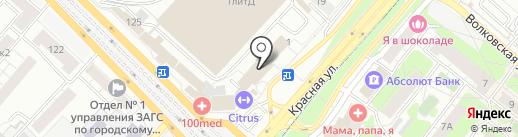 Компо-СП на карте Люберец