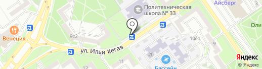 Русский Аппетит на карте Старого Оскола