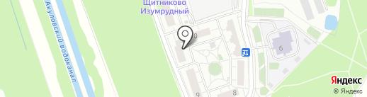 Фасоль на карте Балашихи