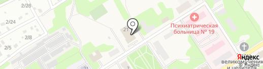 Шаховская сельская библиотека на карте Красного Пути