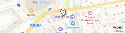 Зодчий на карте Балашихи