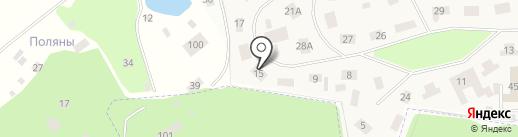 ТОПФУД на карте Лесных Полян