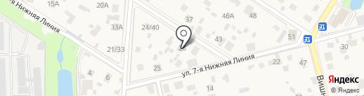 Городская поликлиника №5 на карте Балашихи