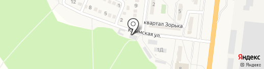 Ясиноватский межрайонный отдел уголовно-исполнительной инспекции на карте Ясиноватой