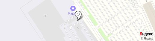 Emirates SkyCargo на карте Домодедово