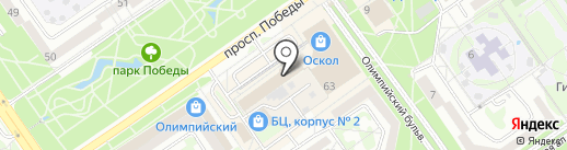 Байкал-Веб на карте Старого Оскола
