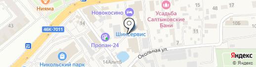 Шинсервис на карте Балашихи