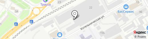 Кубика на карте Люберец