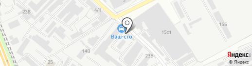 VAG-STO на карте Люберец