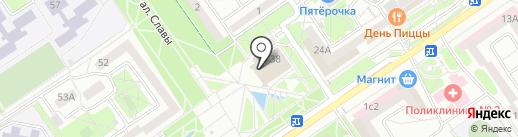 Банкомат, Газпромбанк на карте Старого Оскола