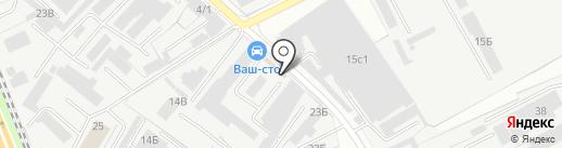 Петрамович на карте Люберец