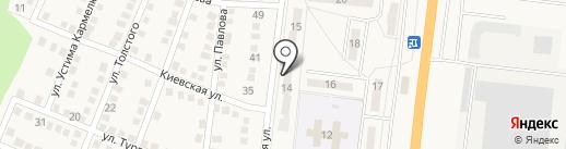 Аптека №584 на карте Ясиноватой