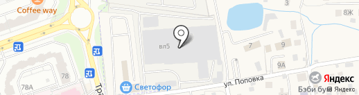 Парламент на карте Балашихи