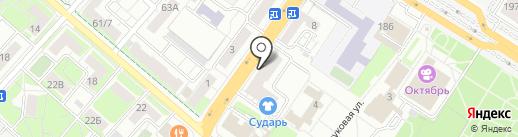 На Смирновской на карте Люберец