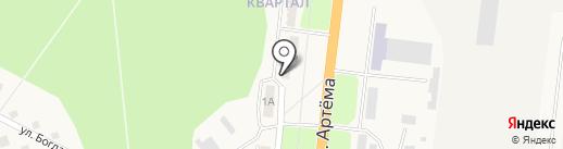 Продуктовый магазин на карте Ясиноватой