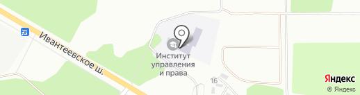 МОИУП на карте Ивантеевки