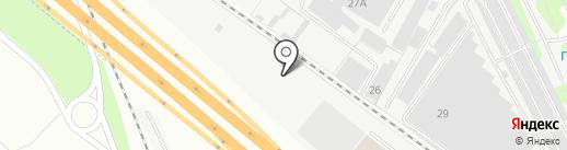 ПромШина, ЗАО на карте Люберец