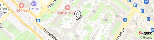 Обстановки.net на карте Люберец