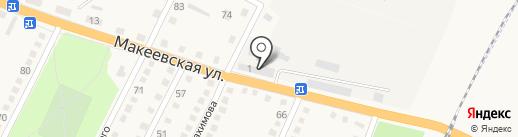 Ясиноватское управление по газоснабжению и газификации на карте Ясиноватой