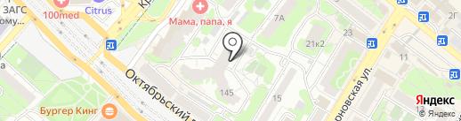 Дива на карте Люберец