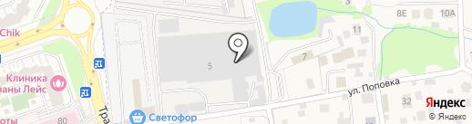 Сервис Форд Транзит на карте Балашихи