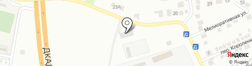 АМБОКС на карте Макеевки