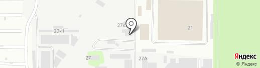 Брандо на карте Ивантеевки