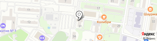 Воентур на карте Балашихи