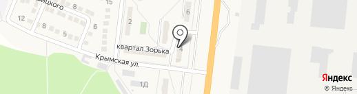 Олимп, продуктовый магазин на карте Ясиноватой