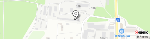 Пром Строй Инвест на карте Ивантеевки