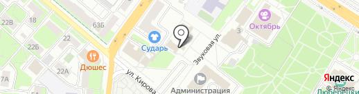 Администрация Люберецкого муниципального района на карте Люберец