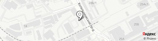 Мегаторгопт на карте Люберец
