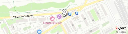 Сеть фотоцентров на карте Люберец