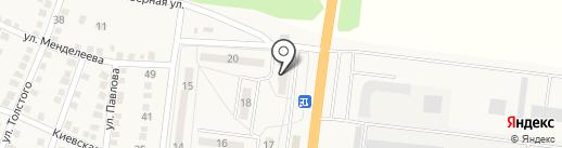 Зорька на карте Ясиноватой