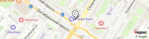Платежный терминал, КБ ИС Банк на карте Люберец