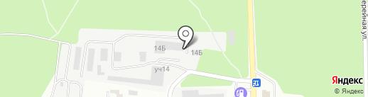Технология движения на карте Ивантеевки