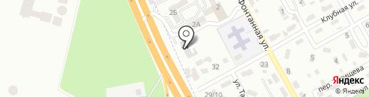 Град на карте Макеевки