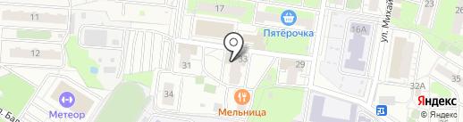 Арсенал на карте Балашихи