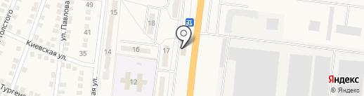 Barbaris на карте Ясиноватой