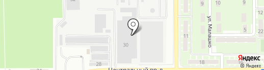 Экодэк на карте Ивантеевки