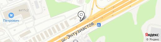 ТФСистемс на карте Балашихи