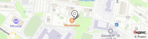 Чеснок на карте Балашихи