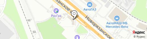 Road Pizza на карте Котельников