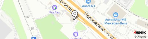 ЭЛЕКТРОМАШ на карте Котельников