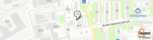 Миг-Авто на карте Лыткарино