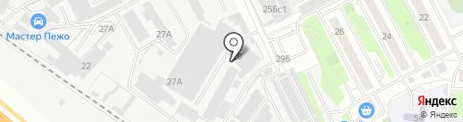 Бест-Инвест на карте Люберец