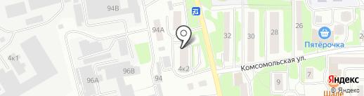 Имидж на карте Лыткарино