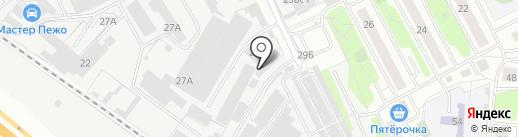 СФ Тимбертрейд на карте Люберец