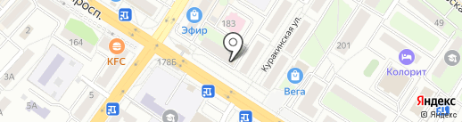 Продуктовый магазин №20 на карте Люберец